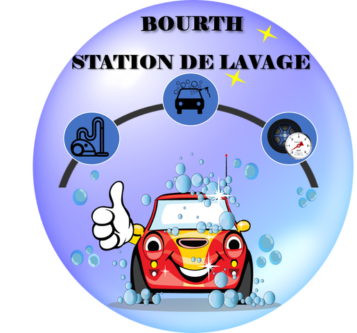 BOURTH logo station lavage site