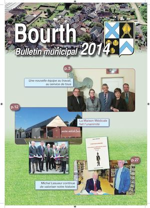 Couverture Bulletin Municipal 2014