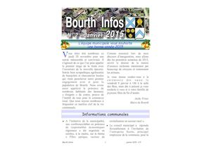 Couverture Bourth Infos N°2