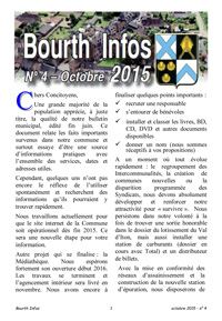 Couverture Bourth Infos N°4