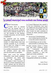 Couverture Bourth Infos N°5