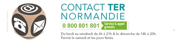 logo Contact TER Normandie